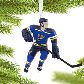NHL St Louis Blues Christmas Ornament