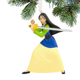Mulan Christmas Ornament