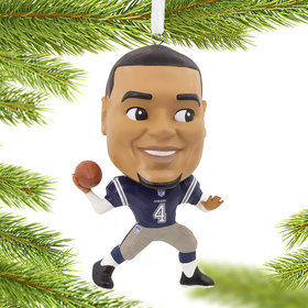 NFL Dallas Cowboys Dak Prescott Christmas Ornament
