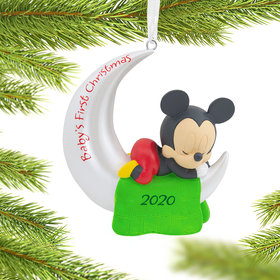 Mickey Mouse Baby's First Christmas Ornament