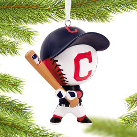 Cleveland Indians Bouncing Buddy Christmas Ornament