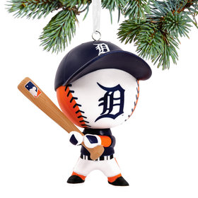 Detroit Tigers Bouncing Buddy Christmas Ornament