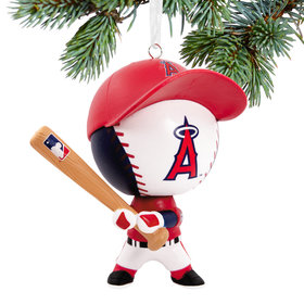 Los Angeles Angels Bouncing Buddy Christmas Ornament