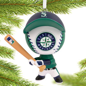 Seattle Mariners Bouncing Buddy Christmas Ornament