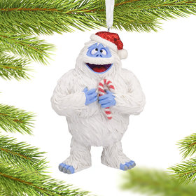 Bumble with Candy Cane Christmas Ornament
