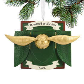 Personalized Snitch Christmas Ornament