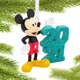 2021 Mickey Mouse Christmas Ornament