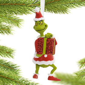 Personalized Grinch Christmas Ornament
