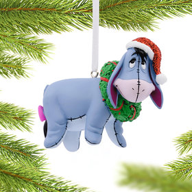 Winne the Pooh Eeyore Christmas Ornament