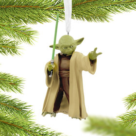 Star Wars Yoda Christmas Ornament