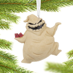 Nightmare Before Christmas Oogie Boogie Christmas Ornament