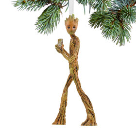 Guardians of the Galaxy Infinity War Teen Groot Christmas Ornament