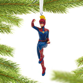 Captain Marvel Christmas Ornament