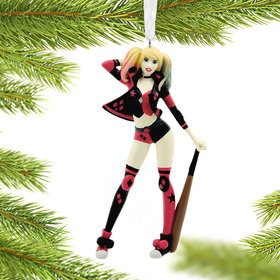 Harley Quinn Christmas Ornament