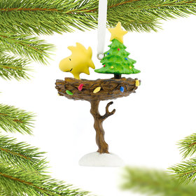 Woodstock in Nest Christmas Ornament