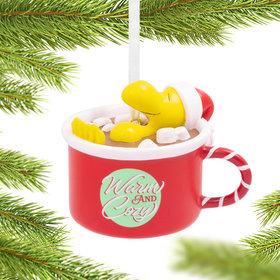 Peanuts Woodstock in Cup Christmas Ornament