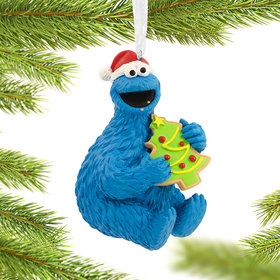 Sesame Street Cookie Monster Christmas Ornament