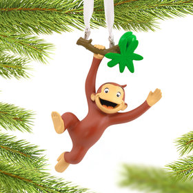 Curious George Christmas Ornament