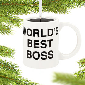The Office Coffee Mug Christmas Ornament
