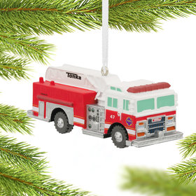 Tonka Firetruck Christmas Ornament