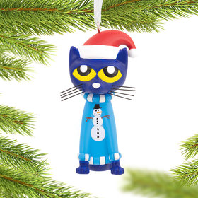 Pete the Cat Christmas Ornament