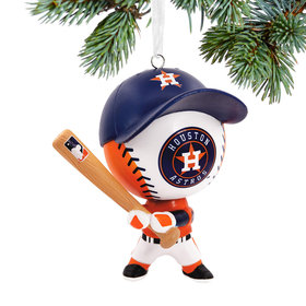 MLB Houston Astros Christmas Ornament
