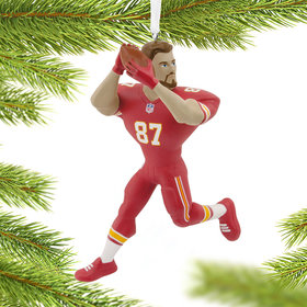 NFL Kansas City Chiefs Travis Kelce Christmas Ornament