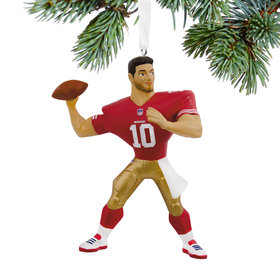 NFL San Francisco 49ers Jimmy Garoppolo Christmas Ornament