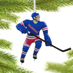 NHL New York Rangers Christmas Ornament