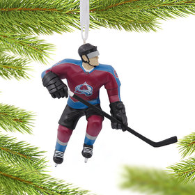 NHL Colorado Avalanche Christmas Ornament