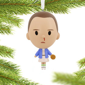 Stranger Things Eleven Christmas Ornament
