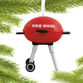 Grilling Christmas Ornament