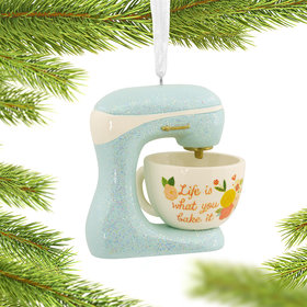 Baking Mixer Christmas Ornament