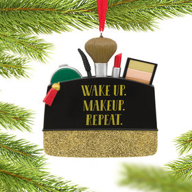 Makeup Bag Christmas Ornament