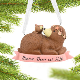New Mom Dated Christmas Ornament