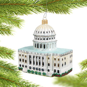 Washington, D.C. Capitol Christmas Ornament