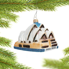Sydney Opera House Christmas Ornament