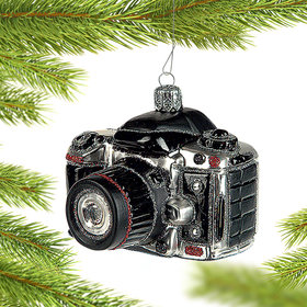 Digital Camera Christmas Ornament