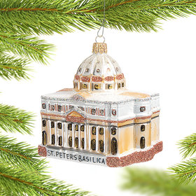 St. Peter's Basilica Christmas Ornament