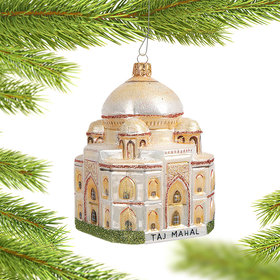 Taj Mahal in India Christmas Ornament