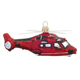 Helicopter Christmas Ornament