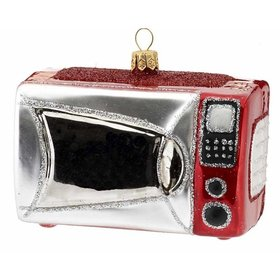 Microwave Oven Christmas Ornament
