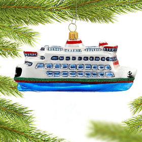 Seattle Ferry Boat Christmas Ornament