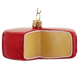 Gouda Cheese Christmas Ornament