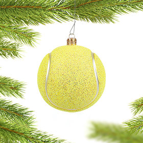 Tennis Ball Christmas Ornament