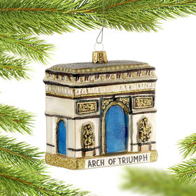 Arch of Triumph Christmas Ornament