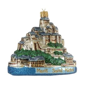 Mont Saint-Michel Christmas Ornament