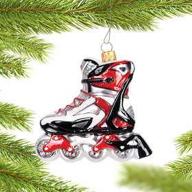 Rollerblade Christmas Ornament