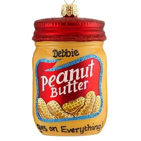 Personalized Peanut Butter Christmas Ornament