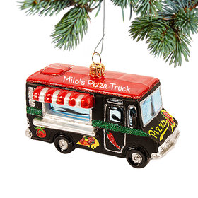 Personalized Food Truck Christmas Ornament